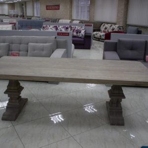 table en chêne en bois massif