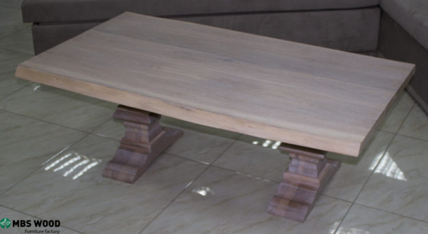 table basse chêne blanc