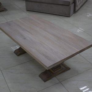 tables basses meubles en chêne terre