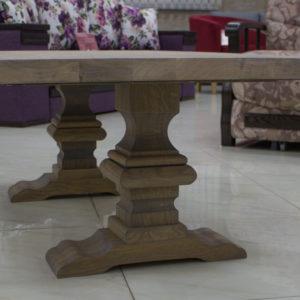 tables basses en bois massif avec tiroirs