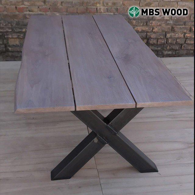 Table à manger chêne 3 planches