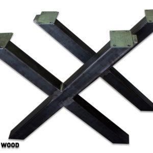 pieds de table en fer forgé à vendre
