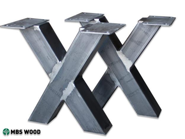 Pieds en acier pour table basse
