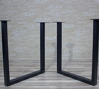 legs for table 11 Production de pieds de tables en acier et en bois