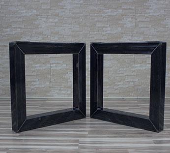 legs for table 7 Production de pieds de tables en acier et en bois
