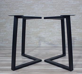 legs for table 9 Production de pieds de tables en acier et en bois