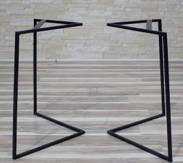 Metal legs mbs 3 Production de pieds de tables en acier et en bois
