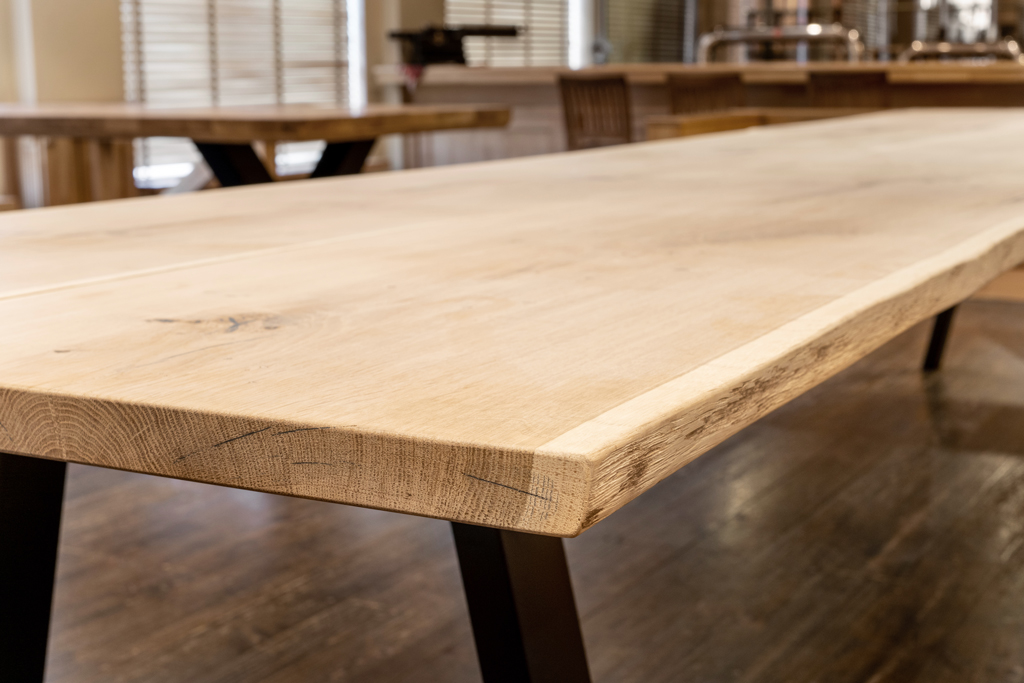 plateau de table en bois personnalisé