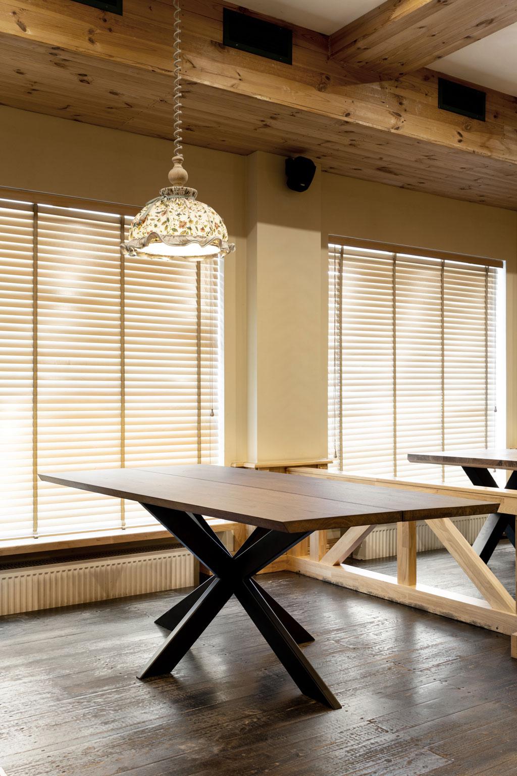 Table en chêne 2 planches